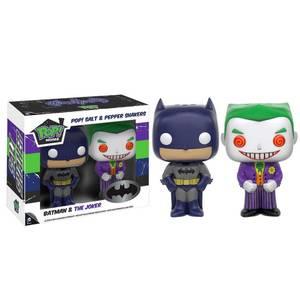 DC Comics Batman and Joker Funko Pop! Home Salt and Pepper Shaker Set