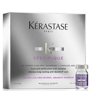 Tratamento Anticaspa e Anti-recidiva Specifique Cure Anti-Pelliculaire da Kérastase 12 x 6 ml