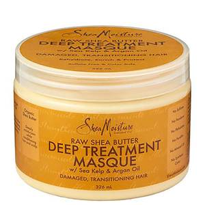 Máscara de Tratamento Profundo com Manteiga de Karité Crua da Shea Moisture 326 ml