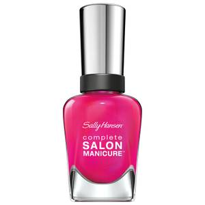 Sally Hansen Complete Salon Manicure 3.0 Keratin Strong Nail Polish - Back To The Fuchsia 14.7ml