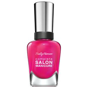 Sally Hansen Complete Salon Manicure 3.0 Keratin Strong Nail Varnish - Back To The Fuchsia 14.7ml
