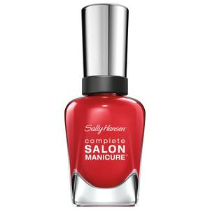 Sally Hansen Complete Salon Manicure 3.0 Keratin Strong Nail Varnish - Right Said Red 14.7ml