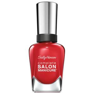 Sally Hansen Complete Salon Manicure 3.0 Keratin Strong Nail Polish - Right Said Red 14.7ml