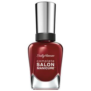 Sally Hansen Complete Salon Manicure 3.0 Keratin Strong Nail Polish - Red Zin 14.7ml