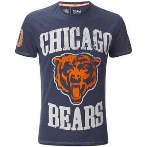NFL Men's Chicago Bears Logo T-Shirt - Navy