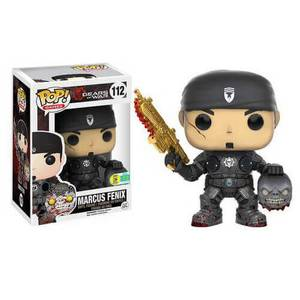 Gears of War Marcus Fenix with Head (Golden Lancer) Pop! Vinyl Figure SDCC 2016 Exclusive