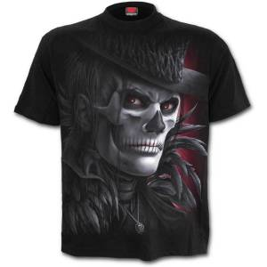 T-Shirt Homme Spiral Day of Goth -Noir