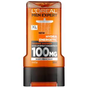 Gel de Banho Men Expert Hydra Energetic da L'Oréal Paris 300 ml