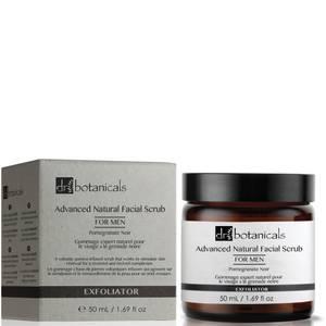 Dr Botanicals Pomegranate Noir zaawansowany naturalny peeling do twarzy dla mężczyzn 50 ml