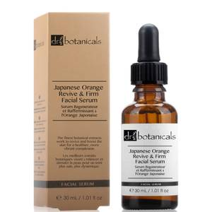 Dr Botanicals Japanese Orange Revive & Firm Facial Serum 30ml