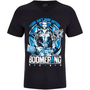 DC Comics Men's Suicide Squad Boomerang T-Shirt - Black
