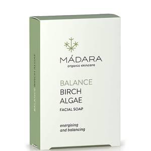 MÁDARA Birch Algae Balancing Face Soap 70g