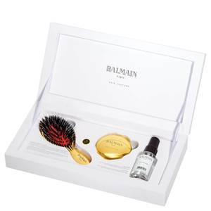 Balmain Hair Mini Golden Brush Set (Worth £138.95)
