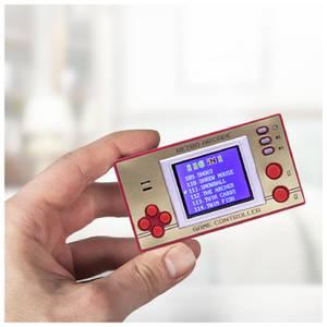 Retro Mini-Konsole mit LCD-Bildschirm