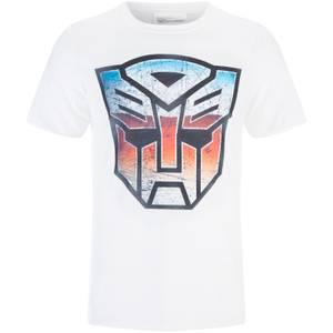 T-Shirt Homme Transformers Transformers Multi Emblem - Blanc