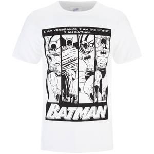 DC Comics Men's Batman I am Batman T-Shirt - White