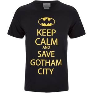 DC Comics Men's Batman Keep Calm T-Shirt - Black