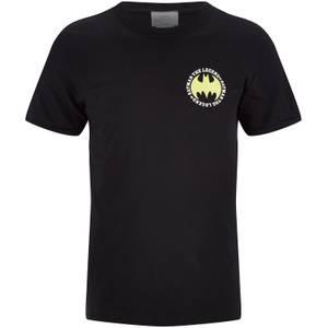 DC Comics Batman Men's The Legend Logo - Black