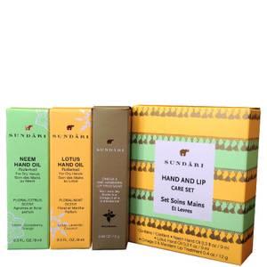 Sundari Hand and Lip Care Set