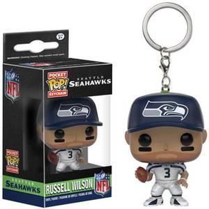 NFL Seattle Seahawks Russell Wilson Funko Pop! Keychain