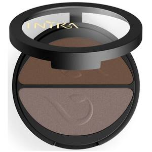 INIKA Pressed Mineral Eyeshadow Duo - Choc Coffee