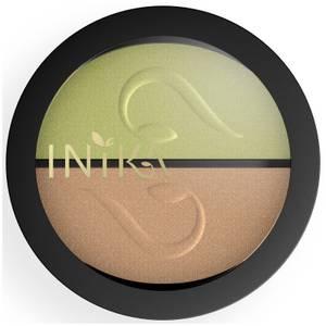 INIKA Pressed Mineral Eyeshadow Duo - Khaki Desert