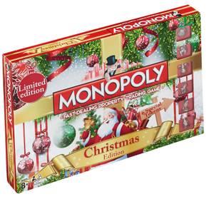 Monopoly Board Game - Christmas Edition