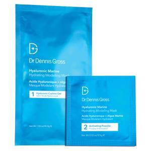 Dr Dennis Gross Skincare Hyaluronic Marine Hydrating Modeling Mask (Pack of 4)