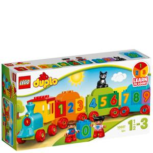 LEGO DUPLO Number Train Toy Education Large Bricks Set (10847)