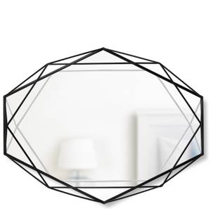 Umbra Prisma Geometric Mirror - Black