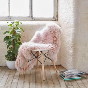 Native Natural Large Sheepskin Rug - Heavenly Pink
