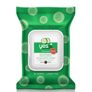 yes to Cucumbers Hypoallergenic Facial Wipes (30er-Packung)