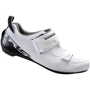Shimano TR5 SPD-SL Triathlon Shoes - White