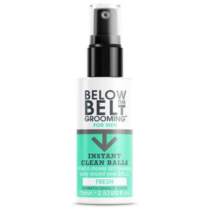 Below the Belt Grooming Instant Clean Balls - Fresh 75ml