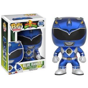 Power Rangers Metallic Blue Ranger Pop! Vinyl Figur