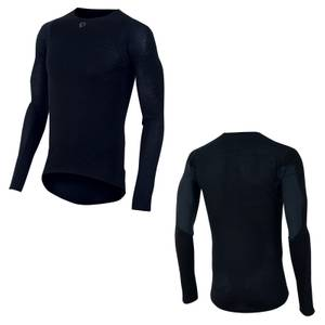 Pearl Izumi Transfer Wool Long Sleeve Baselayer - Black