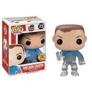 Funko Teleporting Star Trek Sheldon Cooper Pop! Vinyl