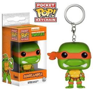 Funko Michelangelo Pop! Keychain