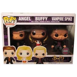 Funko Angel Buffy Vampire Spike 3 Pack Pop! Vinyl