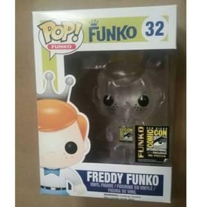 Funko Freddy Funko (Clear) Pop! Vinyl