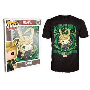 Funko Marvel Pop! Tee Lokis Army Pop! Tees