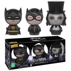 DC Comics Burton Batman Returns 3-pack Dorbz Vinyl Figure