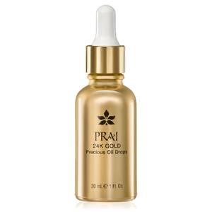 Омолаживающее масло для лица с частицами 24-каратного золота PRAI 24K GOLD Precious Oil Drops 30мл