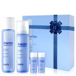 Set de cuidado de la piel con agua termal Aragospa de Skin79