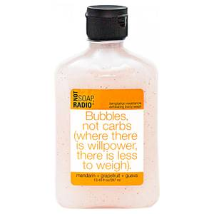 Not Soap Radio Bubbles, not carbs (where there is willpower, there is less to weigh) Exfoliating Body Wash 397ml