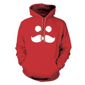 Sweatshirt Mumbo Jumbo -Rouge