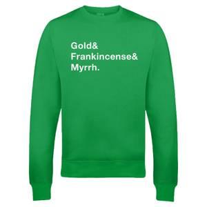 Pull de Noël Homme Gold Frank & Myrr - Vert