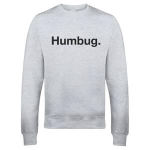 "Sudadera Navidad ""Humbug"" - Hombre - Gris"