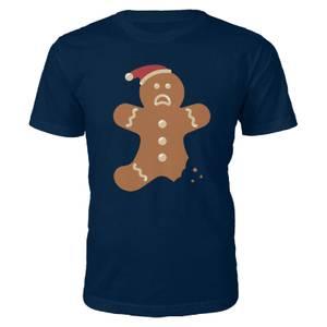 Ginger Bread Christmas T-Shirt - Navy