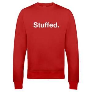 "Sudadera Navidad ""Stuffed"" - Hombre/Mujer - Rojo"